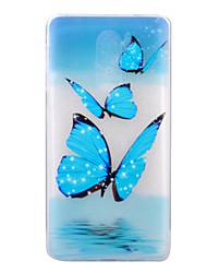 Pour Ultrafine Motif Coque Coque Arrière Coque Papillon Flexible PUT pour Huawei Huawei P8 Lite (2017) Huawei Honor 6X