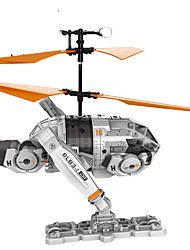 Attop Independence Day Authorized Decent Drop Children's Toys Helicopter Unmanned Aerial Aircraft Model YD-IDR902