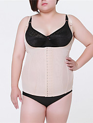 Ms fertilizer big yards of corsets lingerie summer with breathable chest shape body clothing (3XL -5XL)