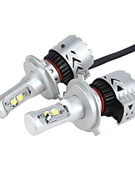 H4 36W/2Pcs 7200LM LED Headlight KIT HIGH LOW Beam Replace Halogen Xenon