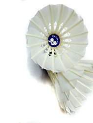 12pcs Badminton Shuttlecocks Wearproof Durable Stability for Goose Feather Other