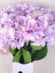 1 Une succursale Fibre Hortensias Fleur de Table Fleurs artificielles 20*20*86