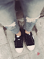 Women's Boots Summer T-Strap Rubber Casual Flat Heel