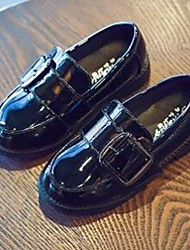 Girls' Loafers & Slip-Ons Comfort Patent Leather Casual Flat Heel
