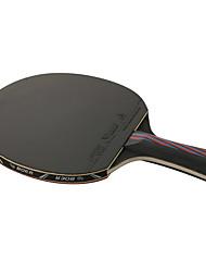 Ping Pang/Tabela raquetes de tênis Ping Pang Fibra de Carbono Cabo Comprido Espinhas1 Raquete 3 Bolas para Tênis de Mesa 1 Bolsa para