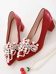 Women's Loafers & Slip-Ons Spring Winter Light Soles PU Casual Low Heel