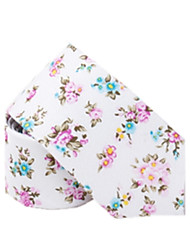 Fashion Casual Floral Tie