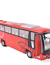 Carrinhos de Fricção Modelo e Blocos de Construção Ônibus Metal