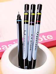 Gel Pen Pen Gel Pens Pen,Plastic Barrel Black Ink Colors For School Supplies Office Supplies Pack of