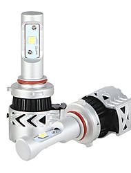 9005 Ampoules LED kit de phares de voiture 36w / 2pcs 7200lm conduit kit de conversion 9v-32v remplacer par des lampes halogènes ou