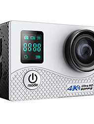 Sports Action Camera 4K Outdoors 16MP 4608 x 3456 WiFi Waterproof wireless Wide Angle Dual Screen All in One Convenient Multi-function 3-Way 30fps 2EV