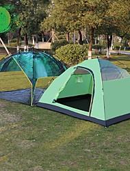 3-4 Personen Doppel Einzimmer Camping ZeltWandern Camping Reisen-Grün