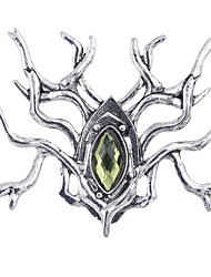 Lureme The Hobbit An Unexpected Journey Brooch of Thranduil Antique Silver Pins Brooches