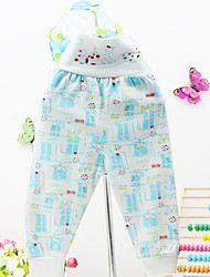 Baby Casual/Daily Print Pants,Cotton Spring Fall