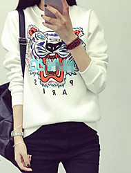 Sign hedging new winter sweater and cashmere sweaters plus large size women bottoming tiger head