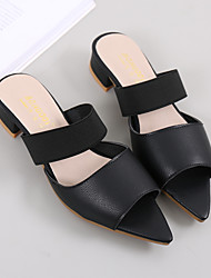 Women's Sandals Spring Summer Comfort PU Dress Low Heel