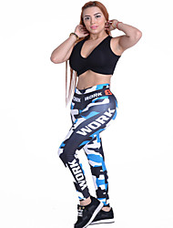 Women's Running Leggings Bottoms Breathable Spring Yoga Polyester Slim Outdoor clothing Athleisure Classic