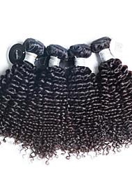 4 шт / много Высокое качество перуанские человеческие волосы, девственные перуанские вьющиеся волосы волнистые