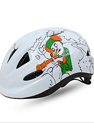 Sport Kinder Fahhrad Helm 11 Öffnungen Radsport Radsport Einheitsgröße PC Weiß Rot Blau Dunkelrosa