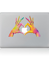For MacBook Air 11 13/Pro13 15/Pro With Retina13 15/MacBook12 Hand Than Love Decorative Skin Sticker