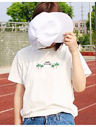 2017 summer Dongguk door College Wind wild palm loose cotton short-sleeved T-shirt blouses