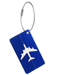 Travel Luggage Tag Waterproof Portable Mini Size Aluminium Alloy
