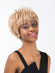 Ethereal   Short Hair Human Hair Wig For Women