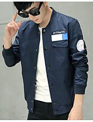 Frühling dünnen Abschnitt Jacke Mantel Männer&# 39; s koreanischen dünnen Jugend Baseball Jacke Kragen Männer&# 39; s Hemd
