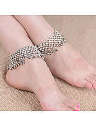 Women's Anklet/Bracelet Gem Alloy Fashion Bohemian Women's Jewelry For Party Casual 1pc