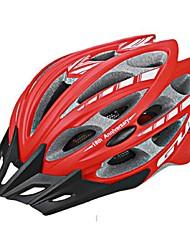 Спорт Универсальные Велоспорт шлем 30 Вентиляционные клапаны Велоспорт Велосипедный спорт Поликарбонат ПенополистиролКрасный Розовый