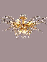 Unterputz ,  Zeitgenössisch Traditionell-Klassisch Rustikal/ Ländlich Rustikal Antikes Messing Eigenschaft for Kristall LED Metall