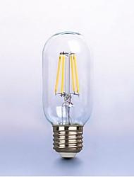 6W E26/E27 Ampoules à Filament LED P45 6 SMD 5730 420 lm Blanc Chaud Décorative V 1 pièce