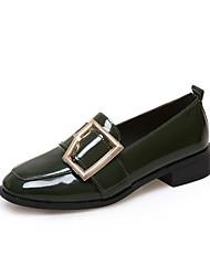 Women's Flats Spring Comfort PU Outdoor Flat Heel Low Heel