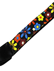 Professional Straps High Class Guitar Electric Guitar Ukulele New Instrument Nylon Musical Instrument Accessories Red Black Pink Yellow