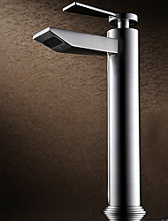 Bath Sink Mixer Tap Modern Deck Mounted Thermostatic Rain Shower Widespread with  Ceramic Valve Single Handle One Hole Basin Faucet