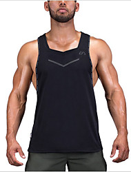 Men's Tops Camping / Hiking Breathable Summer Black Royal Blue