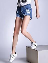 знак джинсы штаны женщин большого размера&# 39, S европейский и американский торговый амазонка Ebay AliExpress свободные заусенцев