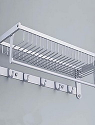Bathroom Racks Towel Racks & Holders Rectangle Aluminum