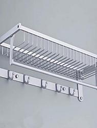 Toalheiros e porta Retângulo Alumínio