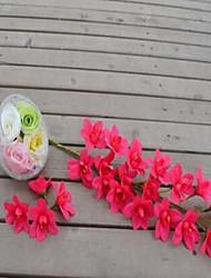 1 Une succursale Plastique Autres Fleur de Table Fleurs artificielles 6*6*95