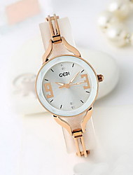 Women's Fashion Watch Water Resistant / Water Proof Japanese Quartz Alloy Rose Gold Plated Band Cool Casual Rose Gold