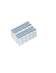 DIY 10*10mm Cylindrical Neodymium NdFeB Magnets(50PCS) Silver