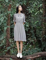 Étagères de pas moins de 67 yuans 2017 printemps nouvelle robe de vent de théâtre