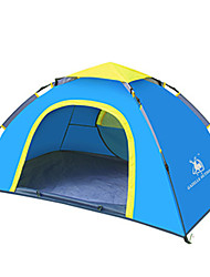 2 persons Tent Double One Room Camping TentGreen Blue
