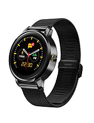F1 MTK2502C Heart Rate Sleep Monitoring Real Time Step Ultra-thin IPS Full View Round Screen Bluetooth  Smartwatch