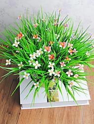 1 Une succursale Plastique Autres Fleur de Table Fleurs artificielles 30