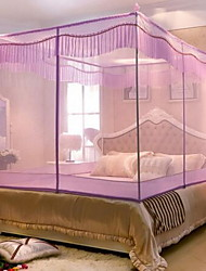 Square Top Bed Stainless Steel Extravagant Mosquito Nets