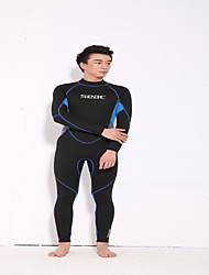 HISEA® Men's 3mm Wetsuit Skin Wetsuits Full Wetsuit Comfortable Sunscreen LYCRA® Diving Suit Long Sleeve Diving Suits-Swimming Diving