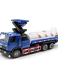 Veiculo de Construção Brinquedos Brinquedos de carro 01:50 Metal Plástico Azul Modelo e Blocos de Construção