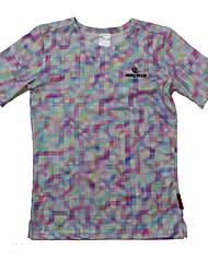 Femme Tee-shirt de Course Manches Courtes Séchage rapide Design Anatomique Résistant aux ultraviolets Perméabilité à l'humidité